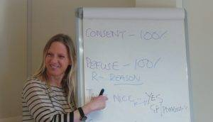 |Learning the theory with Pauline Goodley from PGTtrainerConsultancy